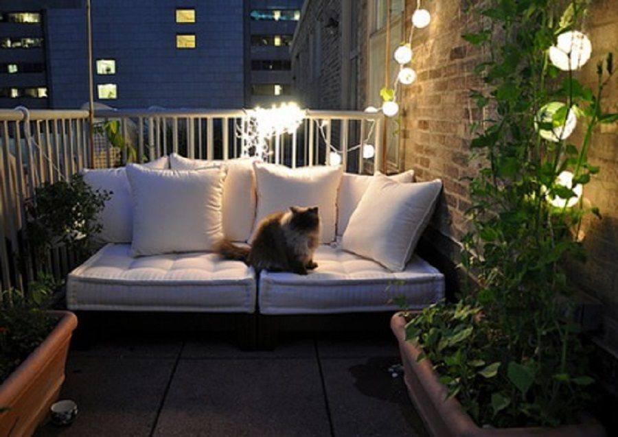 Awesome Decorating Ideas For Small Apartments Small Balcony