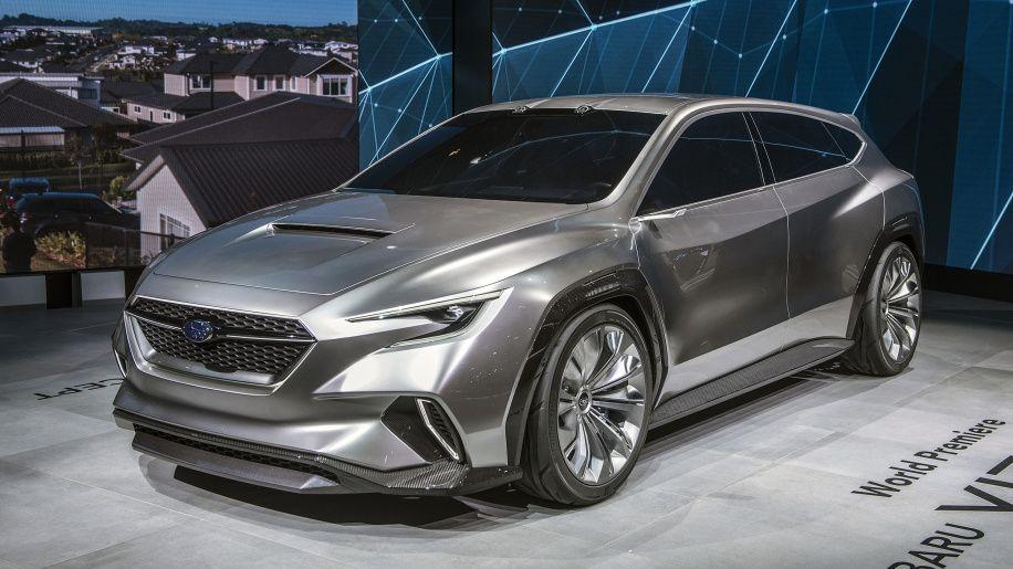Subaru Viziv Tourer Concept Previews 2020 Wrx Wagon Subaru Hatchback Subaru Wrx Wagon