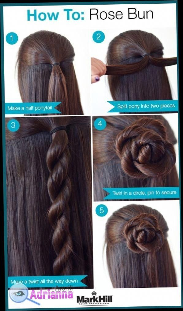 Easy Hairstyles For Medium Length Hair To Do At Home Easy Hairstyles For Medium Length Hair To Do At Home Hair Styles Long Hair Styles Medium Hair Styles