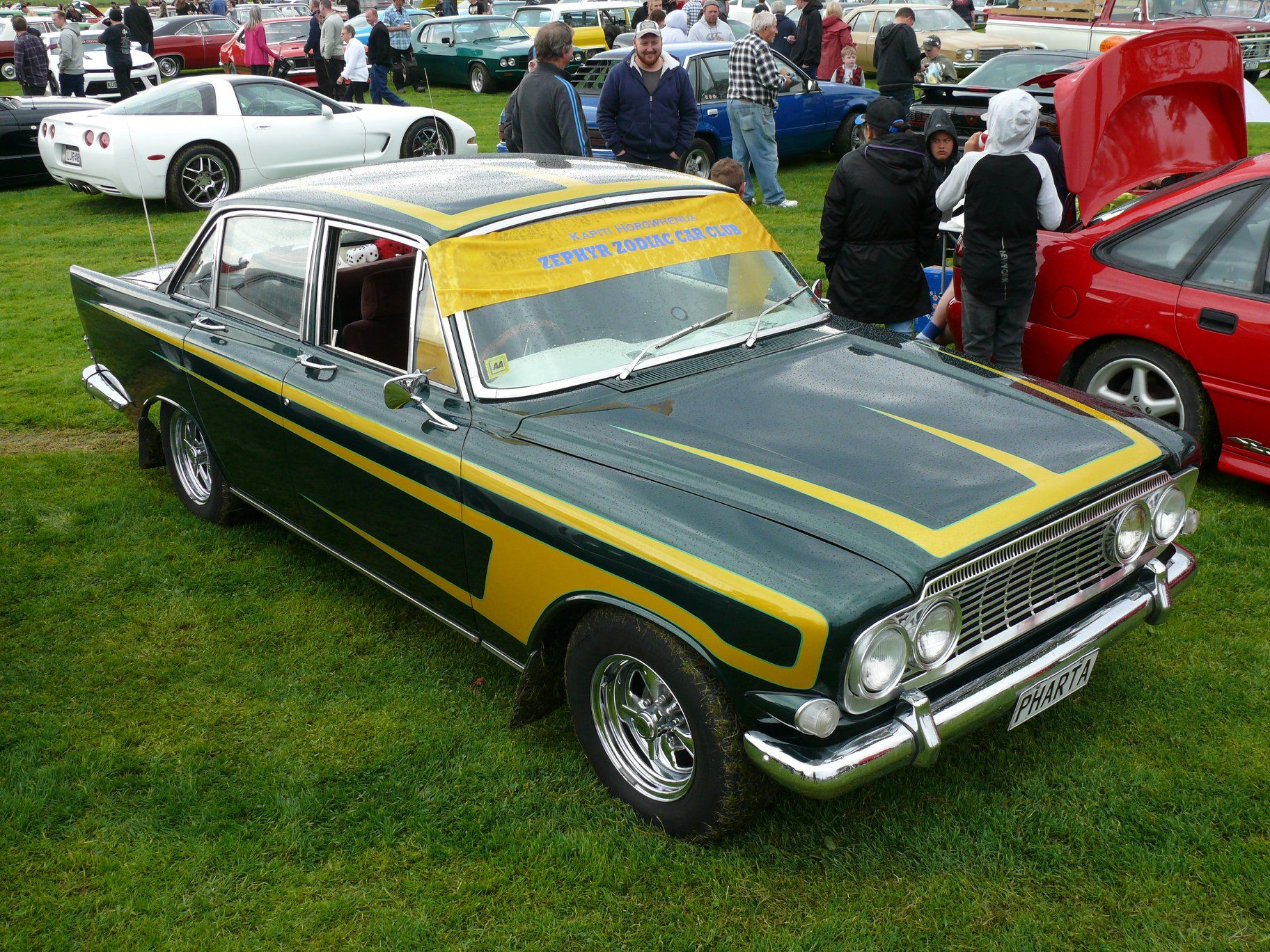 Side View Of Mk Ii Ford Zephyr Estate In New Zealand Ford Zephyr