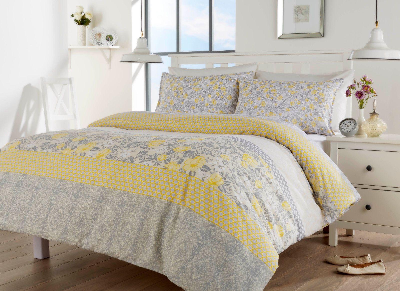 Chelsea Duvet Quilt Bedding Set Ochre Linens Range