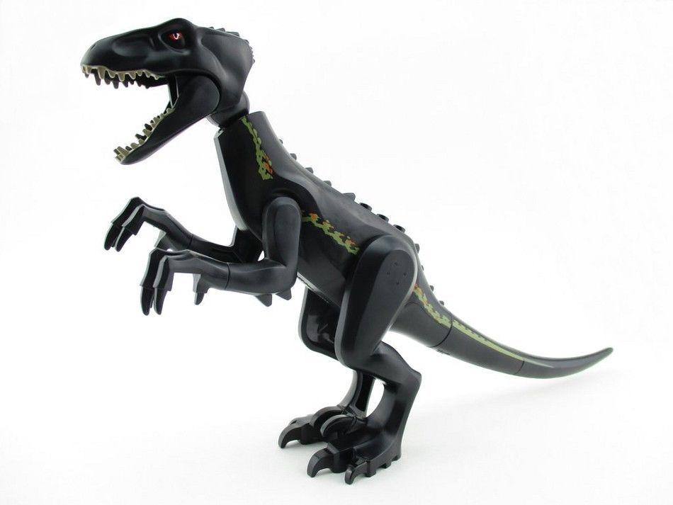 LEGO Lot of 2 Black Animal Dinosaur Tails