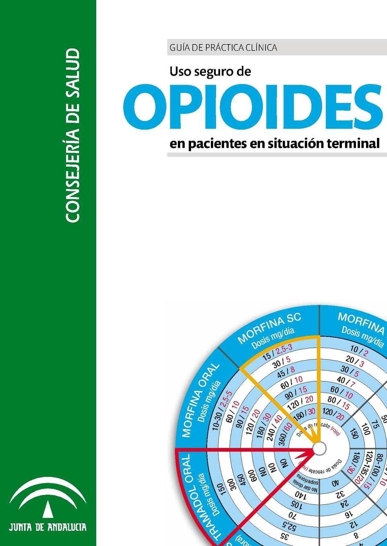 Guía De Práctica Clínica Uso Seguro De Opioides En