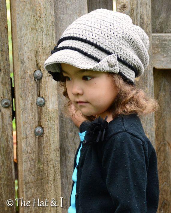 CROCHET PATTERN - City Slouchy - a crochet slouchy hat pattern ...