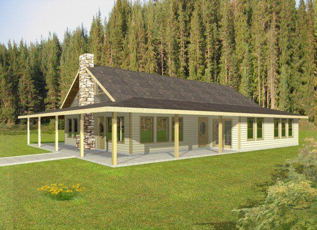 2 Bedroom 2 Bath Cabin Lodge House Plan Alp 05cf Ranch Style House Plans Rustic House Plans Ranch House Plans