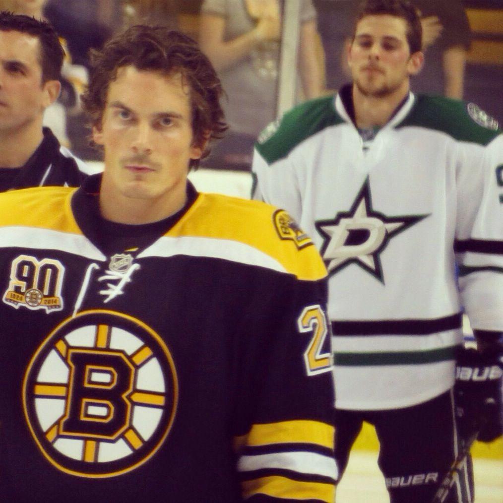 Tyler Seguin Glaring At Loui Eriksson Awk I Took This Boston Bruins Hockey Bruins Hockey Sport Hockey