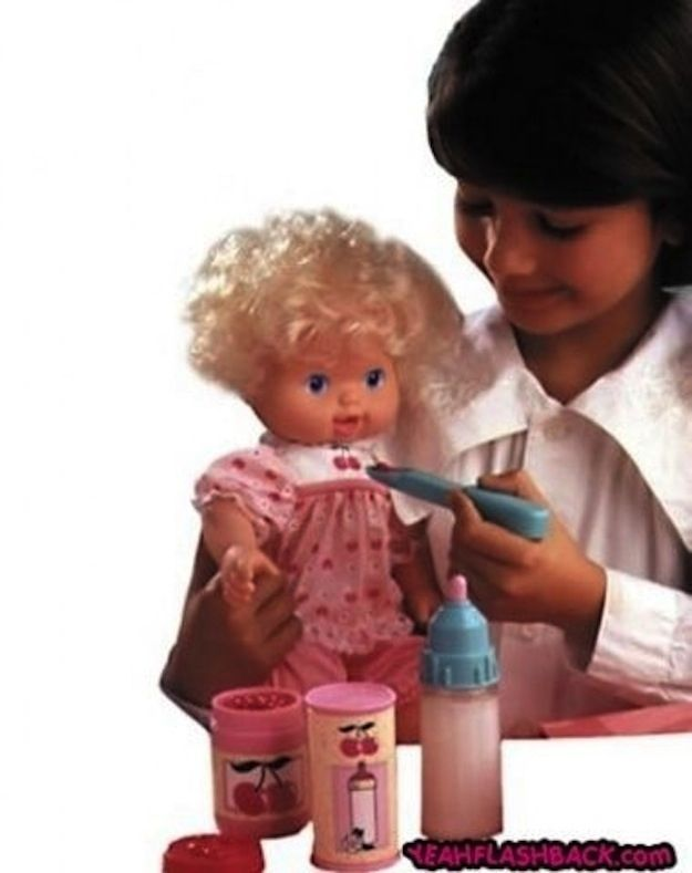 90s girl toys | THIS IS THE SCARIEST DOLL OF THE 90's IN MY OPINION BABY ALL GONE