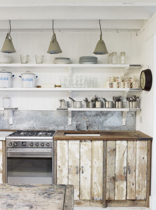 18 imágenes de cocinas sin armarios cerrados | » K I T C H E N ...