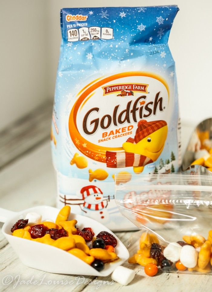 Goldfish Trail mix
