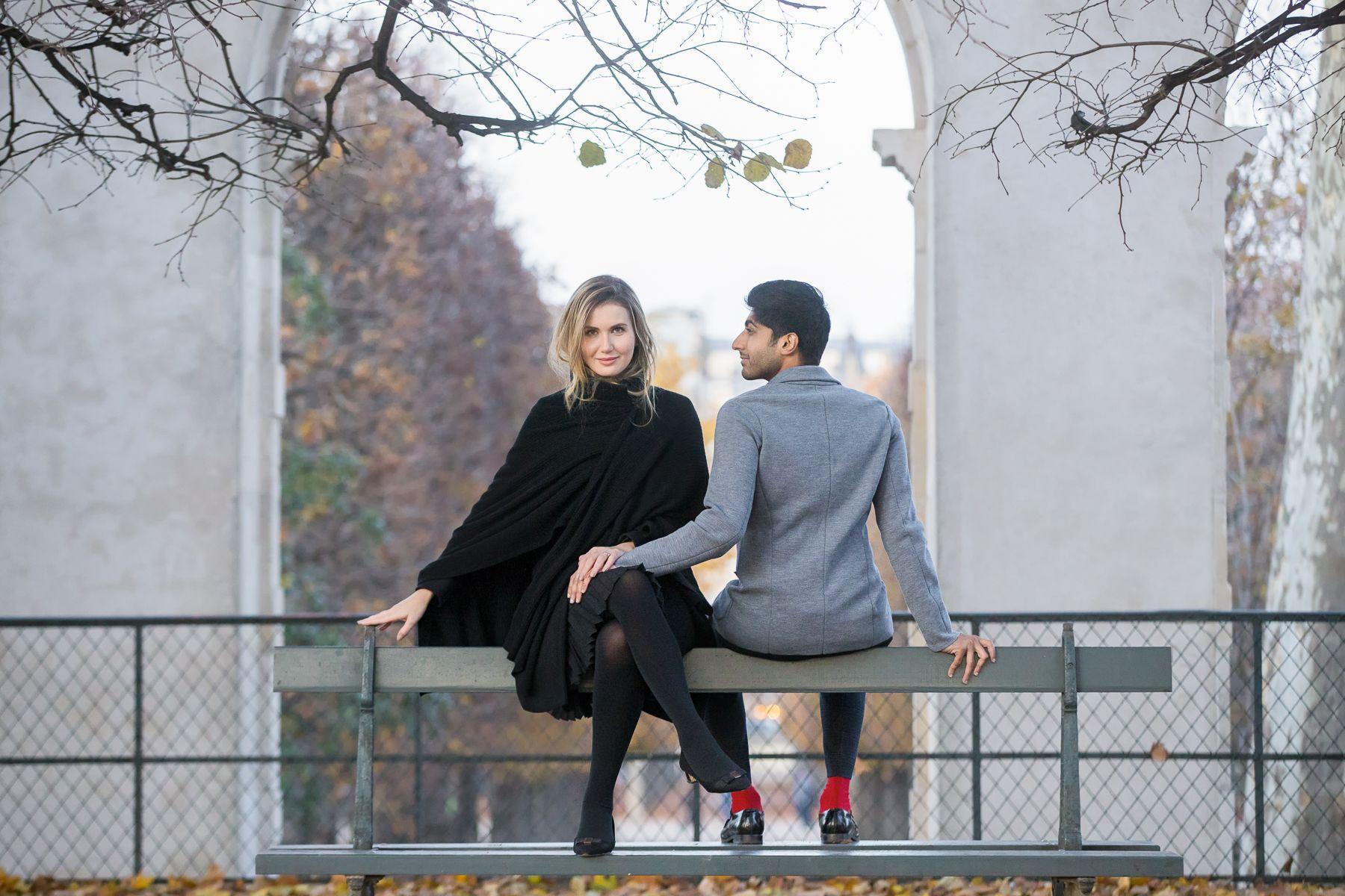 Paris Photoshoot Inspiration Kiss Me in Paris