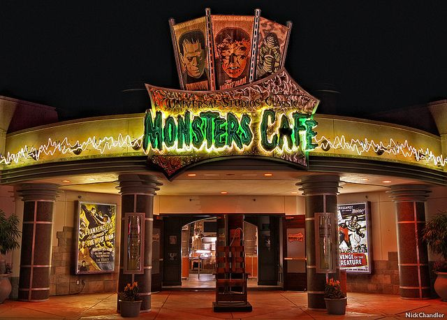 Monster Cafe Universal Orlando Universal Studios Orlando Universal Studios Florida Universal Studios