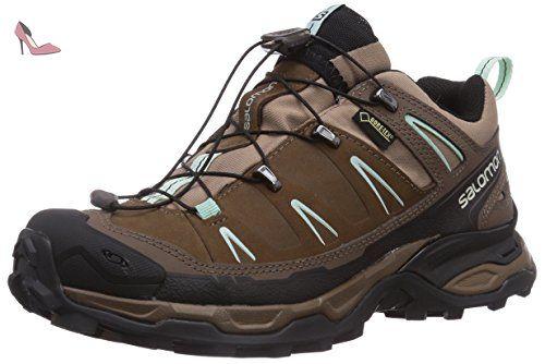 US5.5 / EU35 / UK3.5 / CN35  chaussures à fond épais occasionnels chaussures simples chaussures ascenseur étudiants Automne Mme  Salomon X Ultra 3 Gtx W Chaussures de randonnée turquoise 36 2/3 EU  black   US6.5-7 / EU37 / UK4.5-5 / CN37  41 1/3 EU ttVoy