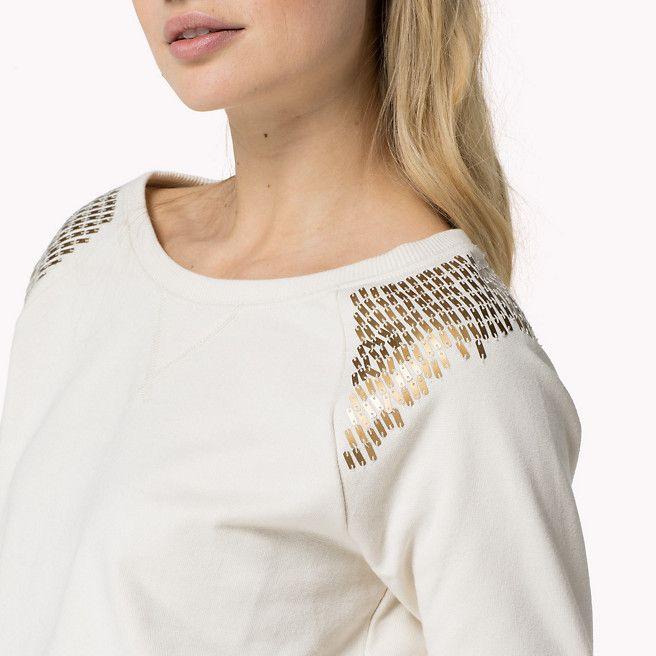 Hilfiger Denim Janelle - egret-pt - Hilfiger Denim Sweatshirts and Hoodies - detail image 2