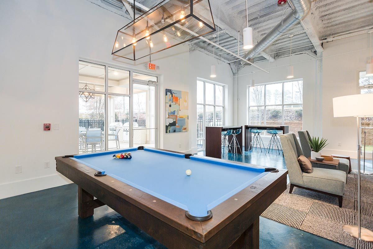 1701 North Apartments- Chapel Hill, NC: Pool Table