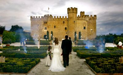Wedding In Spain At A Castle