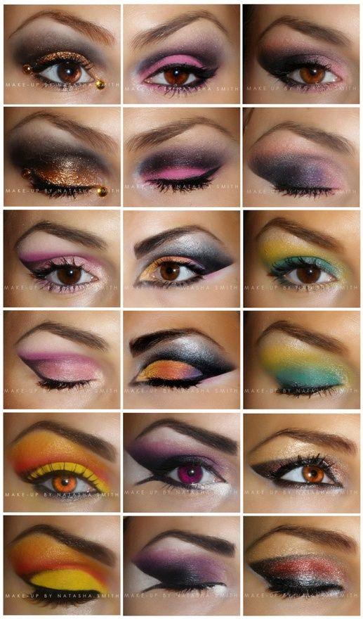 Lots Of Eye Looks Burlesque Makeup Ideas