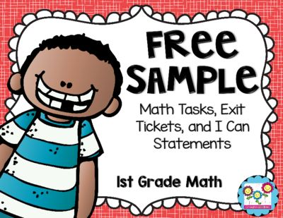 1st+Grade+Math+Bundle+FREE+Sample+from+Create+abilities+on ...