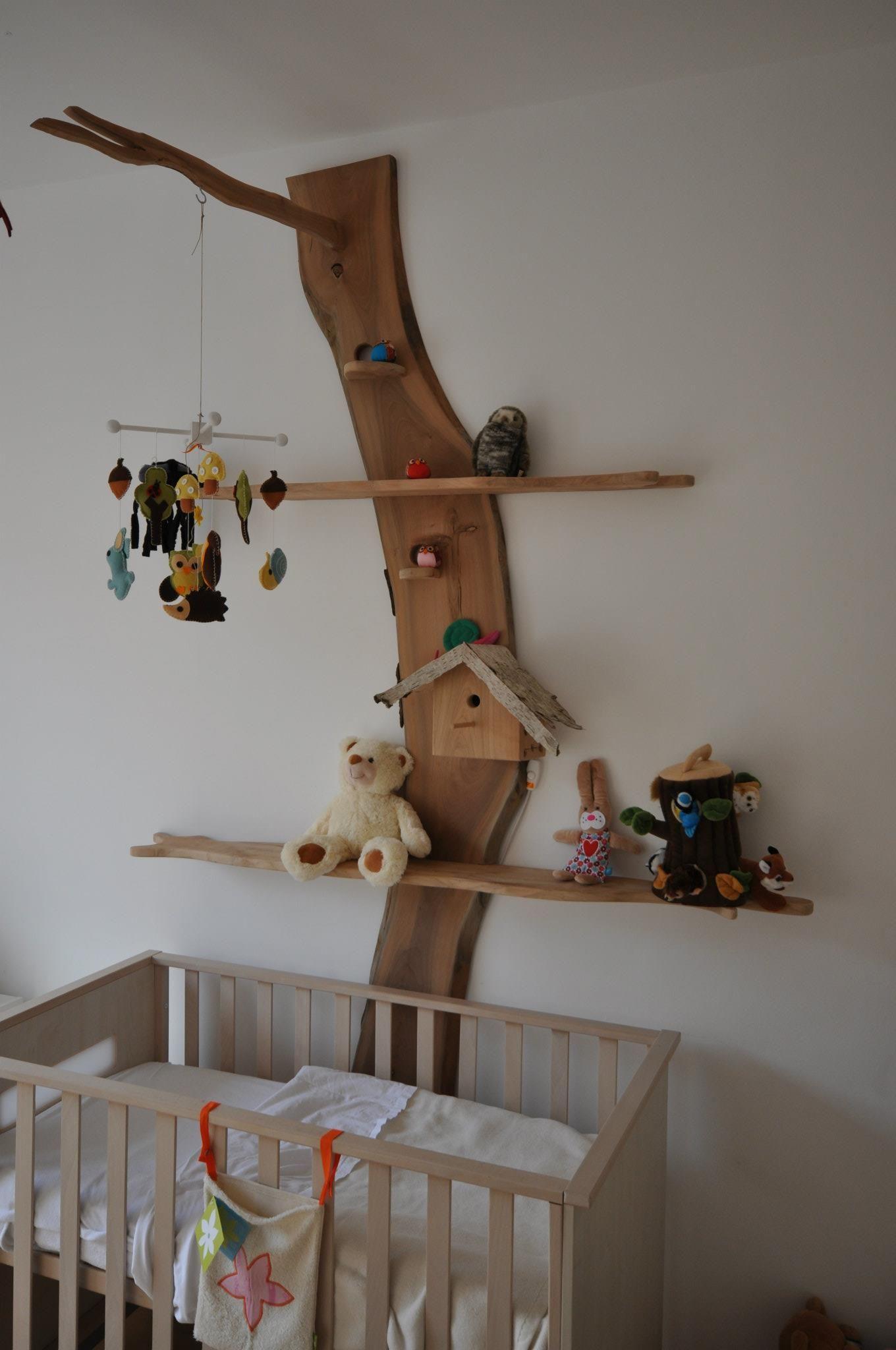 La Chambre D Enfant En Bois Idees Deco Kinderkamer Babykamer