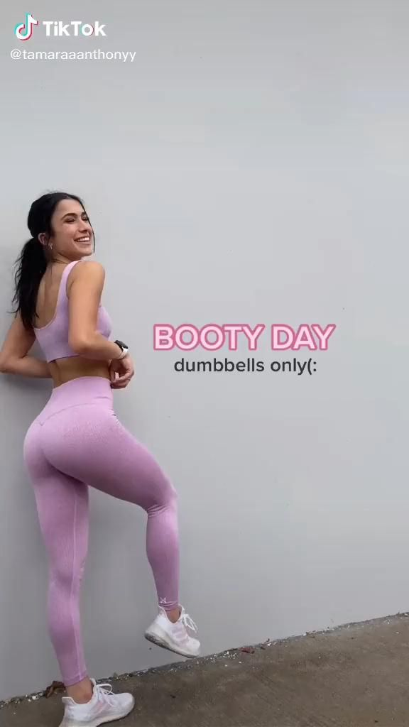 Booty Expansion with Dumbbells Workout