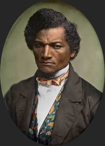Image result for frederick douglass in color
