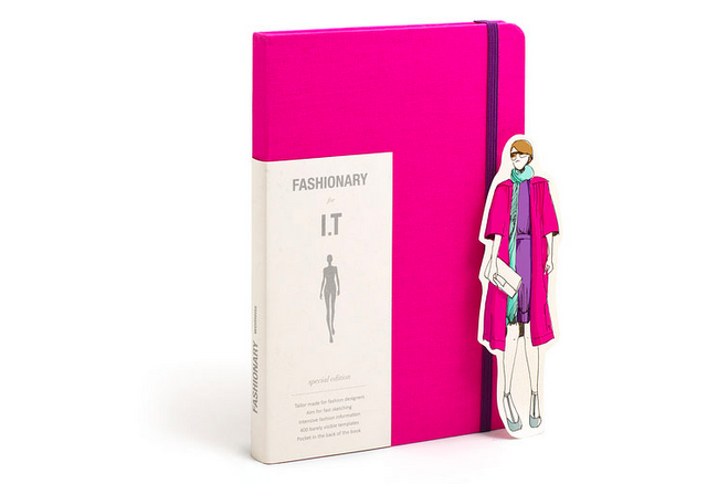 All-in-one fashion dictionary and sketchbook by Penter Yip!