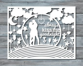 wedding paper cut template paper cut templates pdf by zavyanne8