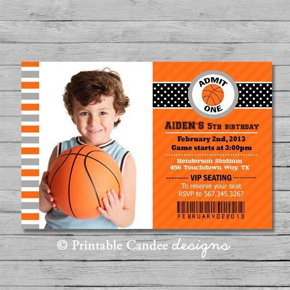 Coolnew basketball birthday invitations invitations card by coolnew basketball birthday invitations filmwisefo