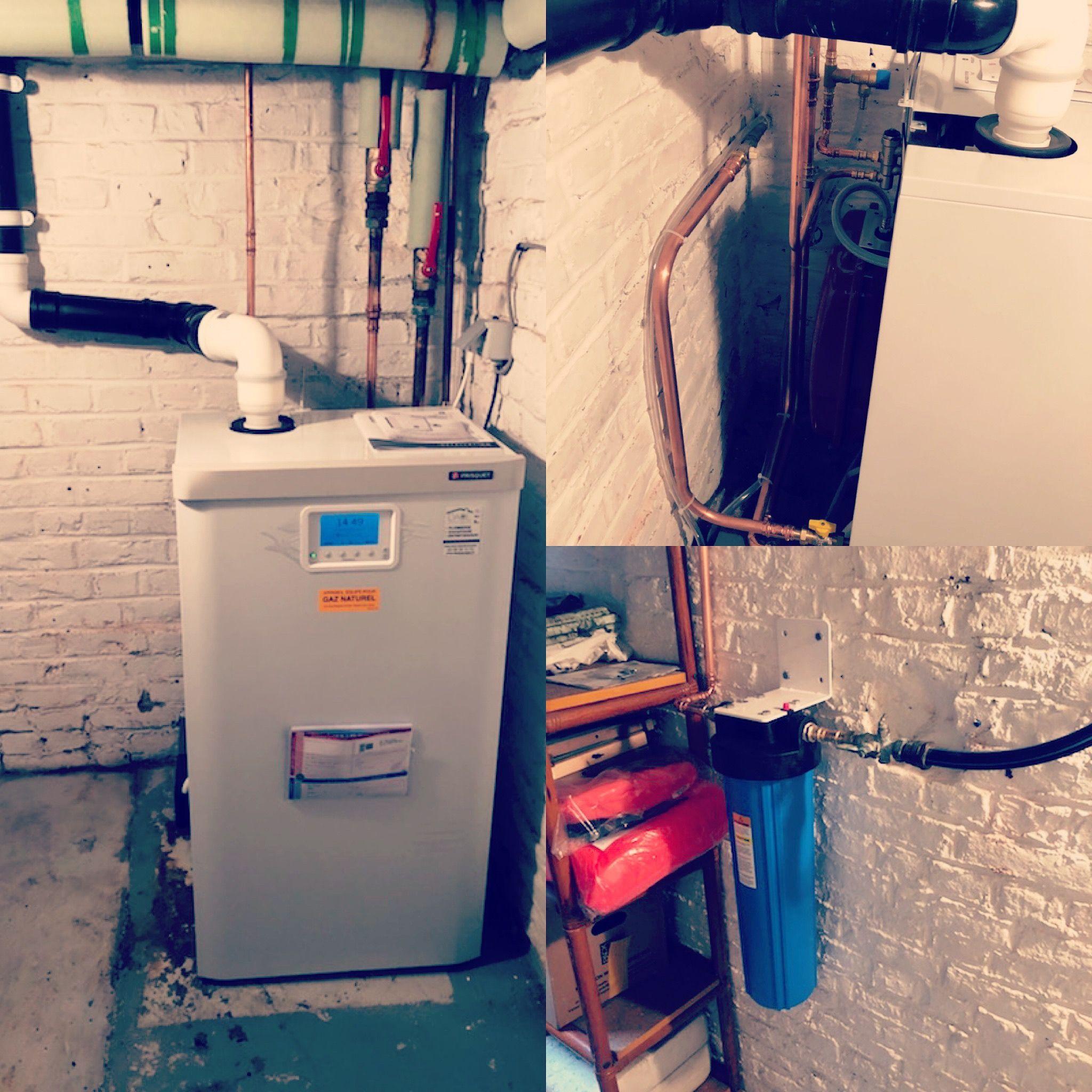 Installation Chaudiere A Condensation Frisquet Prestige Et Un