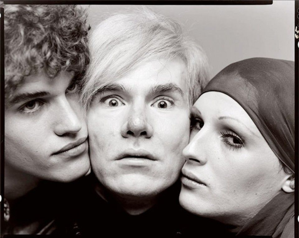 by Richard Avedon : Andy Warhol, Jay Johnson and Candy Darling, New York, August 20, 1969