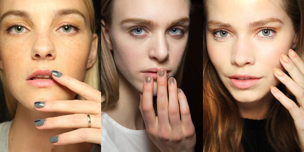 The 17 Best Nail Looks from Fall 2015 | Bright nails, Nail trends ...