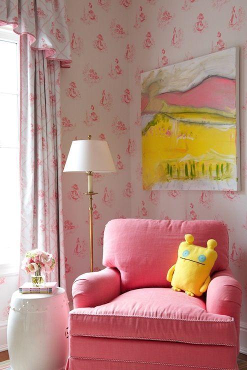 Kerry Hanson Design - nurseries - pink nursery, pink nursery design ...