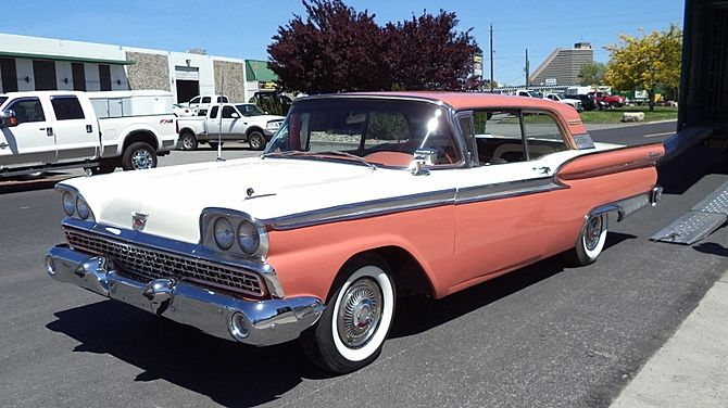 1959 Ford Fairlane 500 Galaxie | Old Rides 3 | Ford fairlane