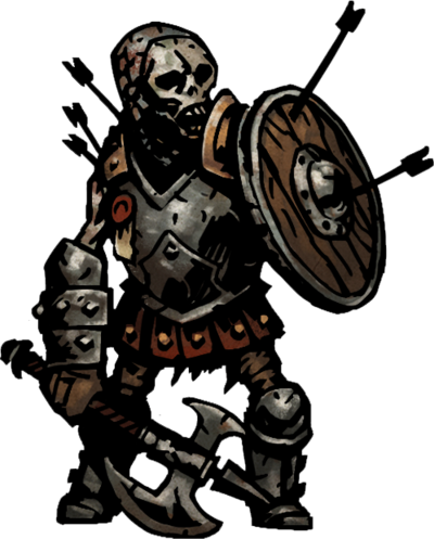 Skeleton Defender Sprite Defend Png Darkest Dungeon Dungeon Monster Concept Art