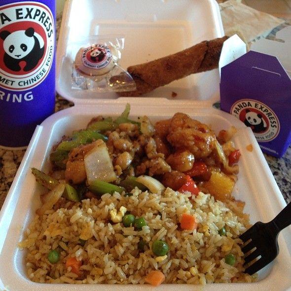 Create You Plate Panda Express Restaurant Recipes Usa Food Food