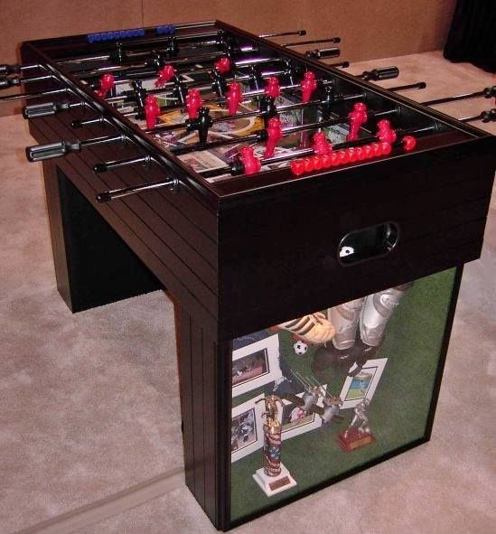 Our creativity knows no bounds! We once crafted a functioning foosball table from picture frame moulding. It won second place in a nationwide framing contest! Bring your ideas to us and we'll make them a reality!