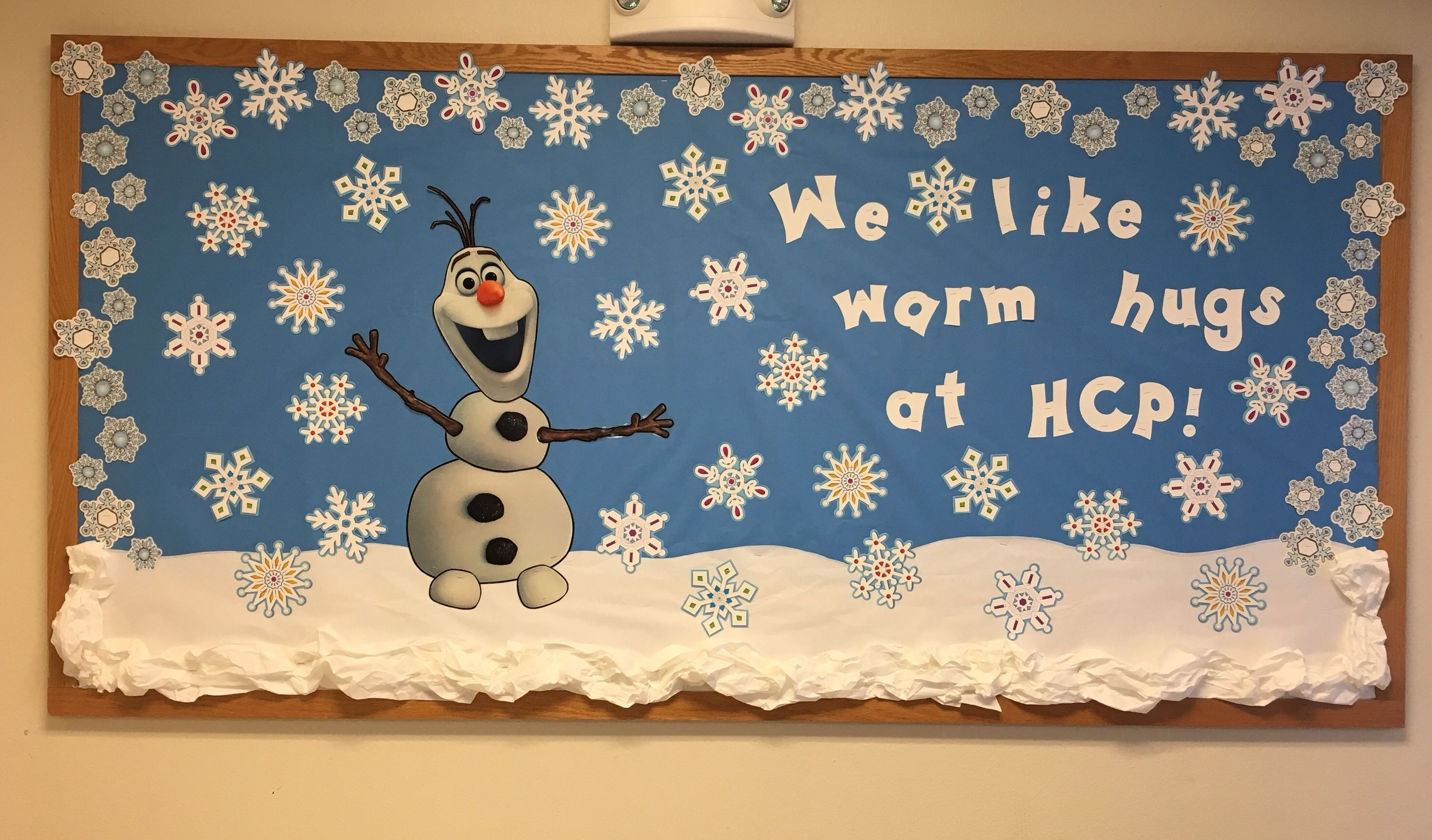 Olaf and Snowflakes, can't go wrong!
