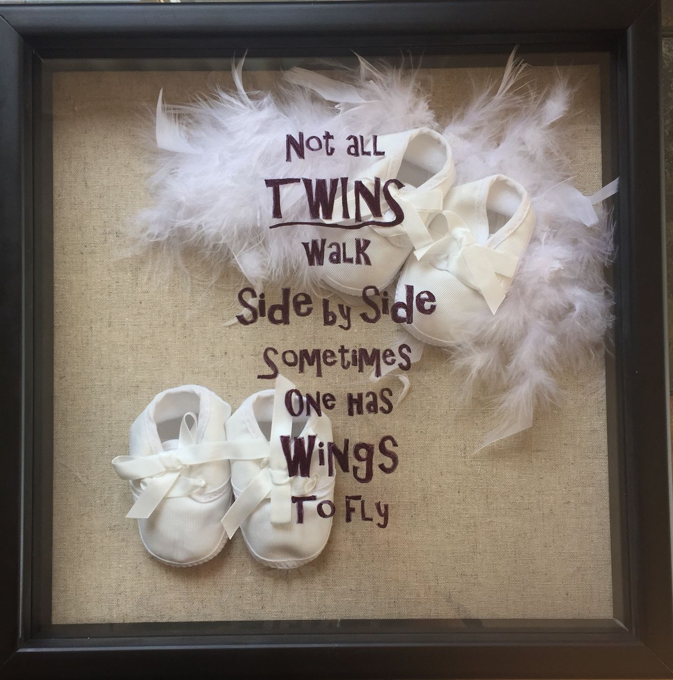Just Had A Baby Gift Ideas : Loss of one twin miscarriage gift