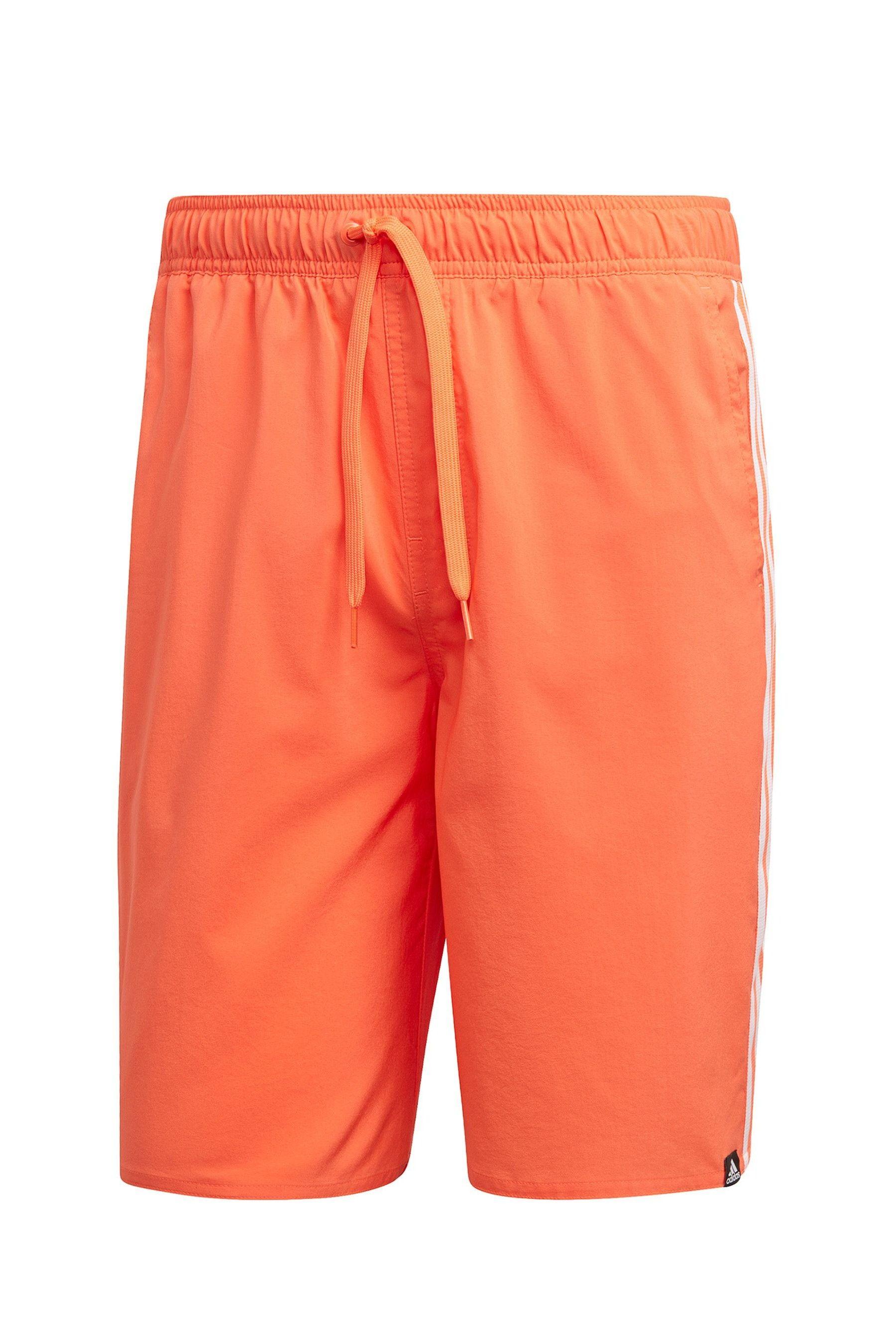74c4099ffa Mens adidas True Orange 3 Stripe Swim Short - Orange in 2019 ...