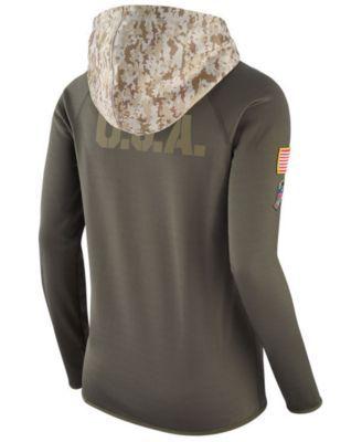 Nike Women s Jacksonville Jaguars Salute To Service Hoodie - Green ... 975df525b