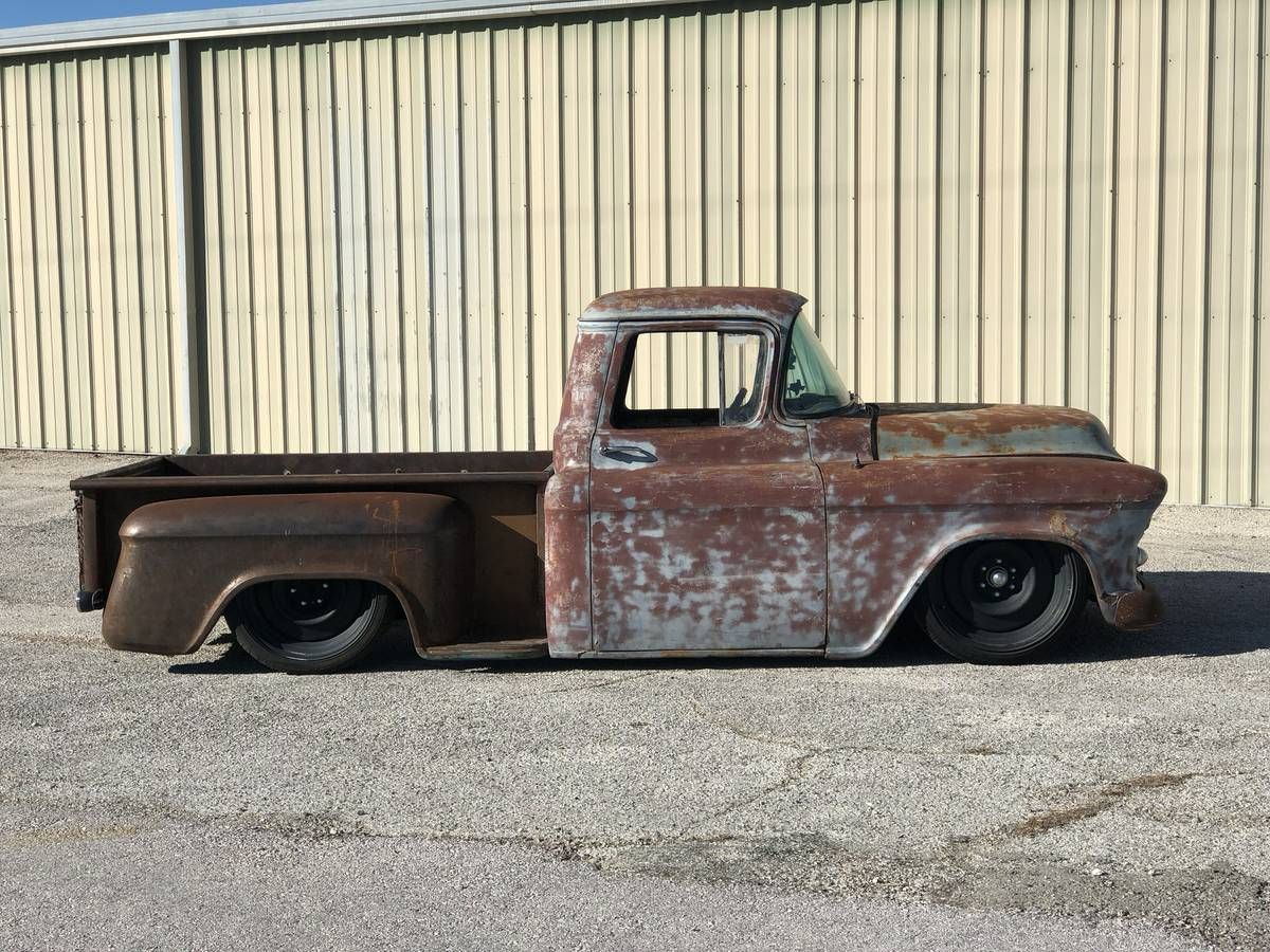 1955 56 57 Chevy Truck 57 Chevy Trucks Vintage Pickup Trucks Chevy Trucks