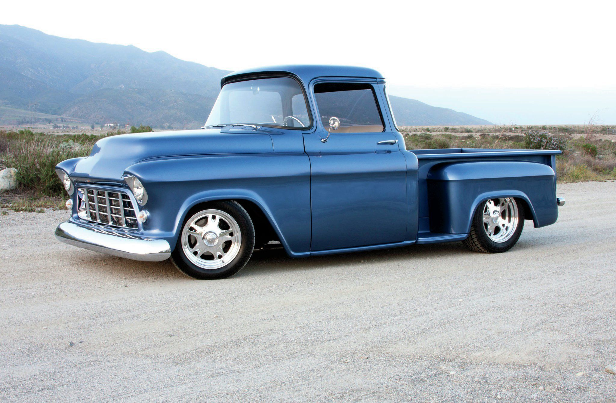 1955 chevrolet hot rod truck pictures to pin on pinterest - 1955 Chevy Truck Sweet Dream Hot Rod Network