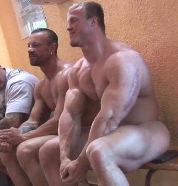 Men In Locker Room 71