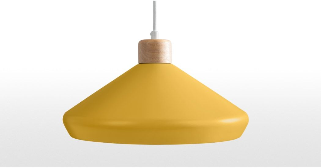 Albert Table Light, Mustard Yellow