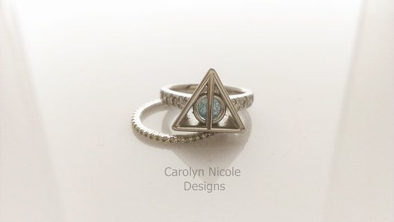 Harry Potter Deathly Hallows Engagement by CarolynNicoleDesigns