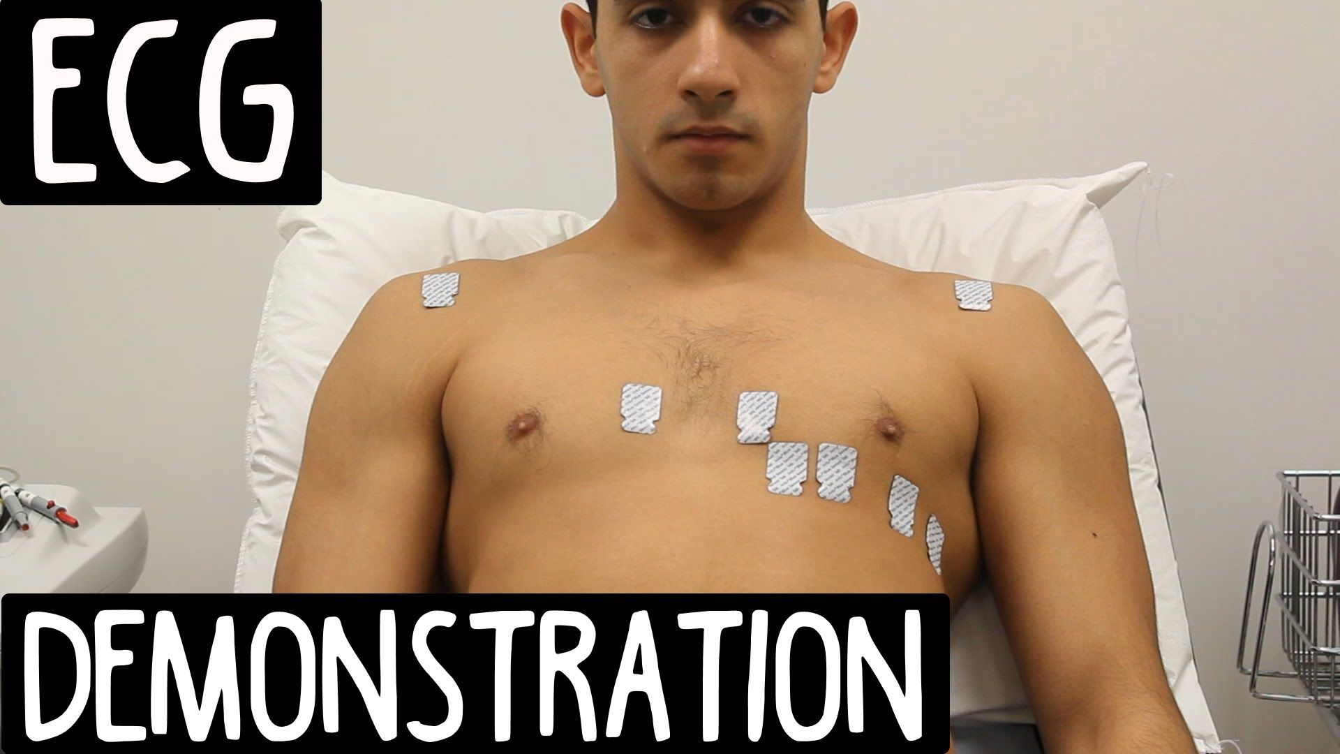 ECG Lead Placement OSCE Exam Demonstration Certified