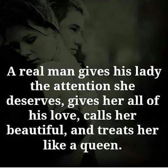 A wife loves her husband who gives her attention she needs