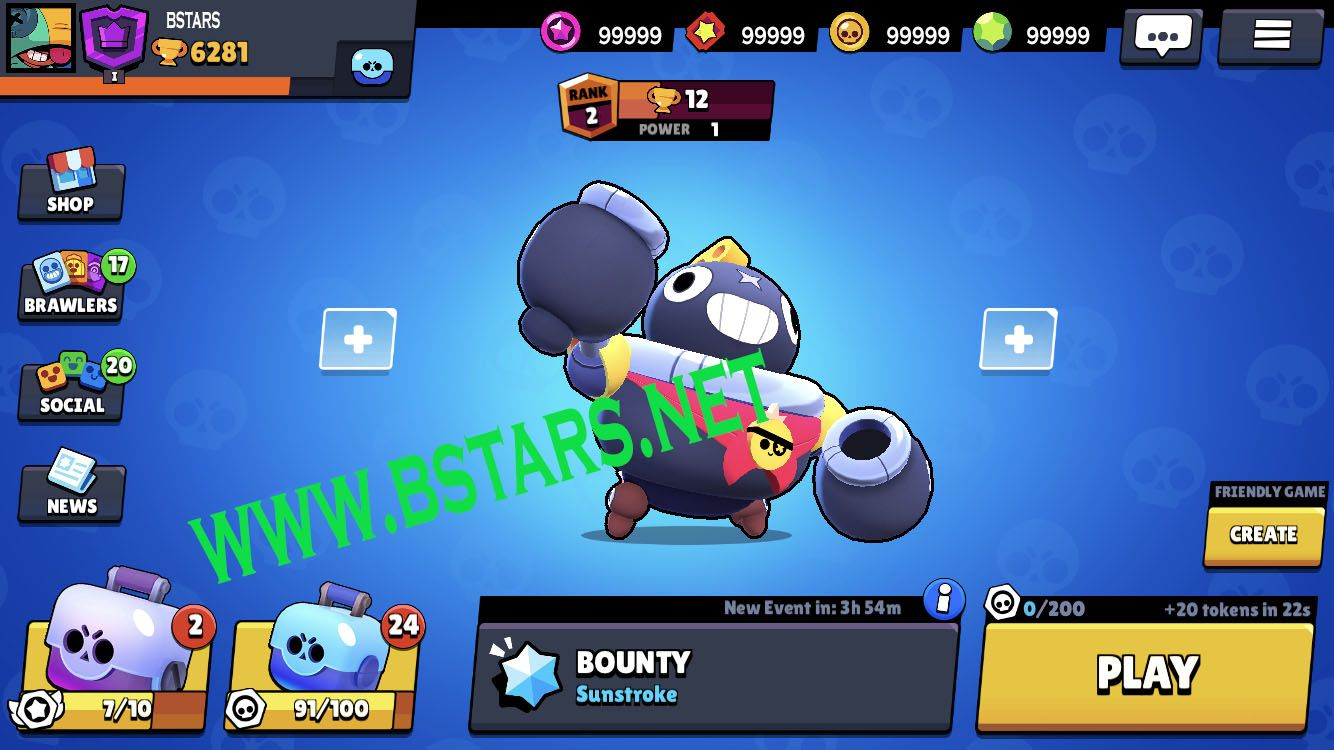 Brawl Stars Latest Version Hack Enabled You Can Get Unlimited Gems And Gold Only Here Https Bstars Net Brawl Free Gems Hacks