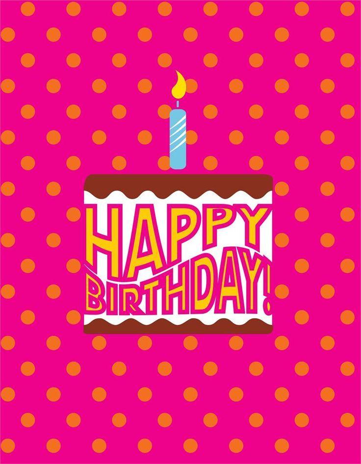 Happy Birthday To Me Happy 1st Birthday Cards Happy Birthday