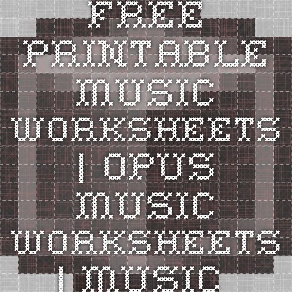 opus music worksheets - Boras.winkd.co