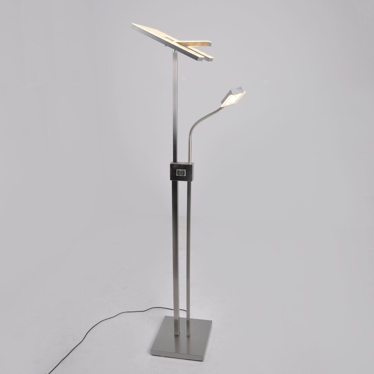 Eckiger LED-Deckenfluter Nala, dimmbar Jetzt bestellen unter: https ...